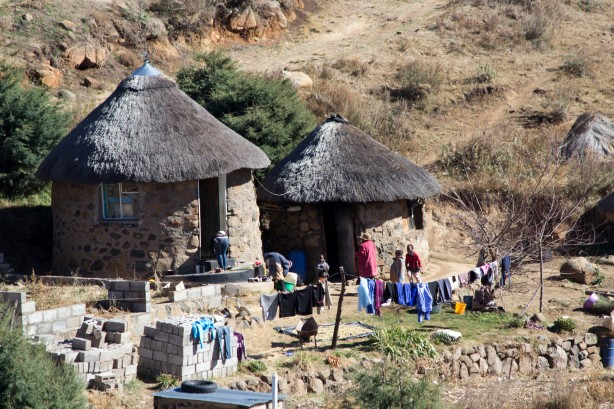 Basotho house in Semonkong
